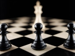 Pawns and king chess pieces on chess board - Clarity Divorce