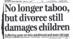 Paper about divorce damaging children - Clarity Divorce